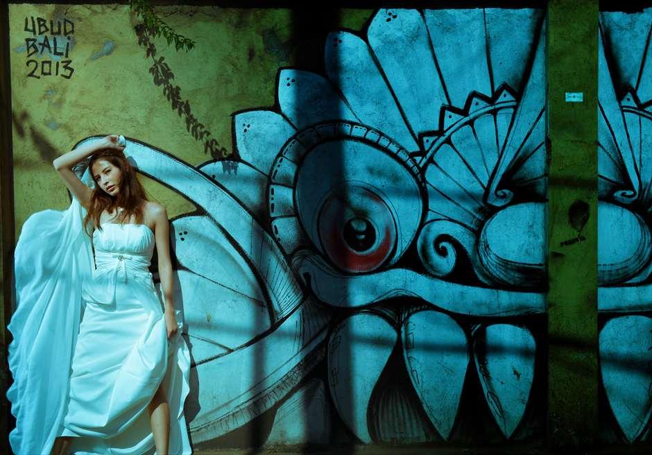 ウブド壁画