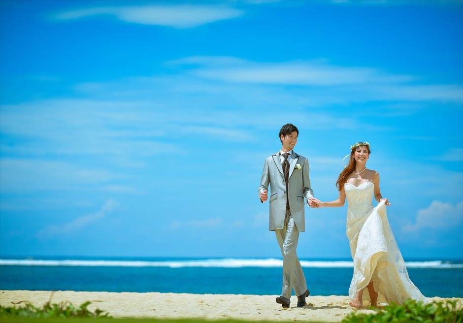 バリ島ウェディング・フォト【ビーチ】/セント・レジス・バリ
