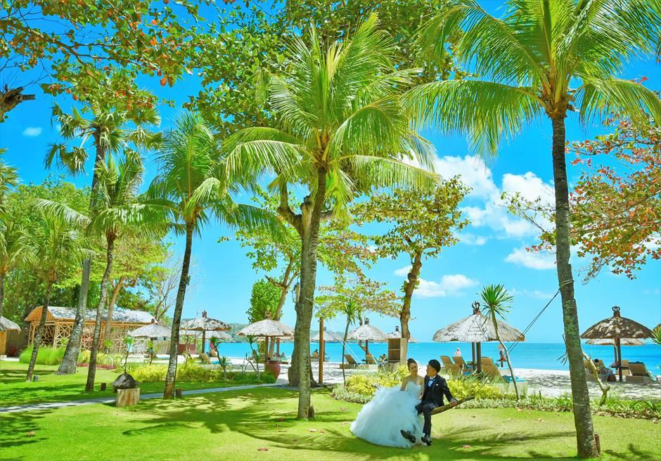 バリ島ウェディング・フォト【ガーデン】/ベルモンド・ジンバラン・プリ・バリ
