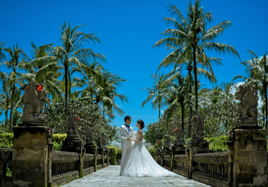 バリ島ウェディング・フォト【ガーデン】/インターコンチネンタル・リゾート・バリ