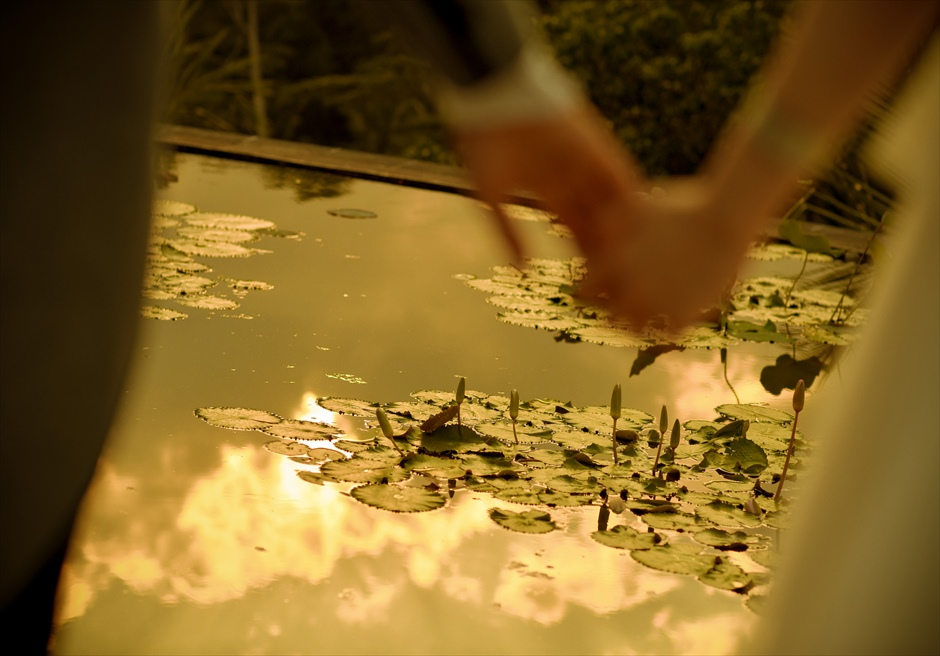 バリ島ウェディング・フォト【ポンド】/ ウブド地区フォーシーズンズ【17時15分】
