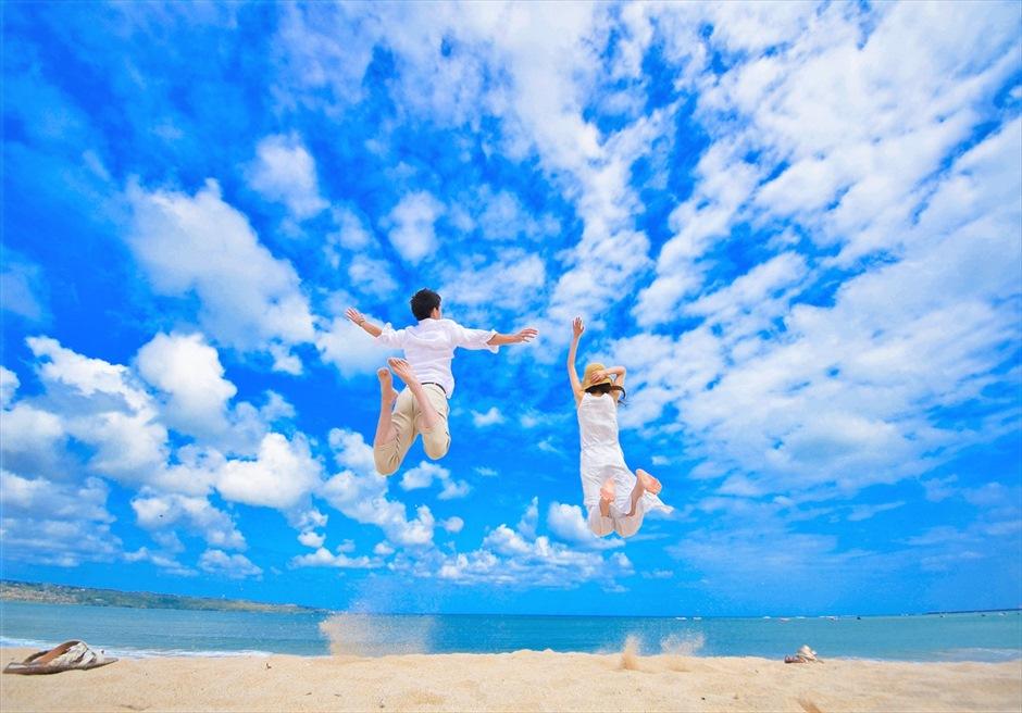 バリ島ウェディング・フォト【ビーチ】/ デイタイム