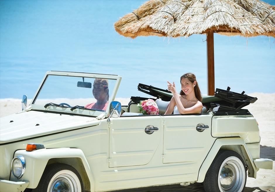 バリ島ウェディング・フォト【オープンカー】/ ジンバラン地区 ビーチ