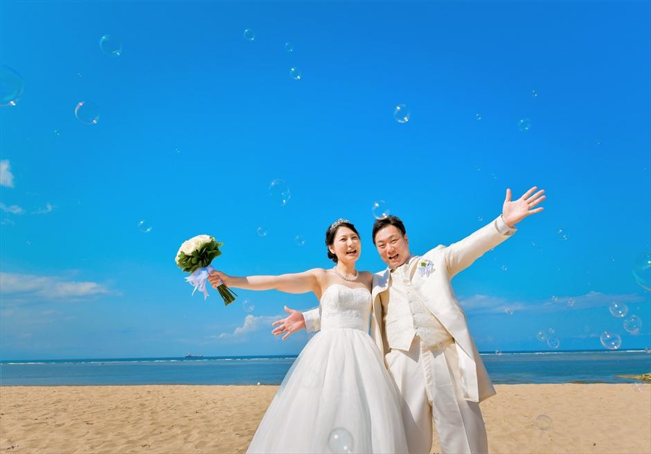 バリ島ウェディング・フォト・オプション/ バブルシャワー/ ¥10,000~