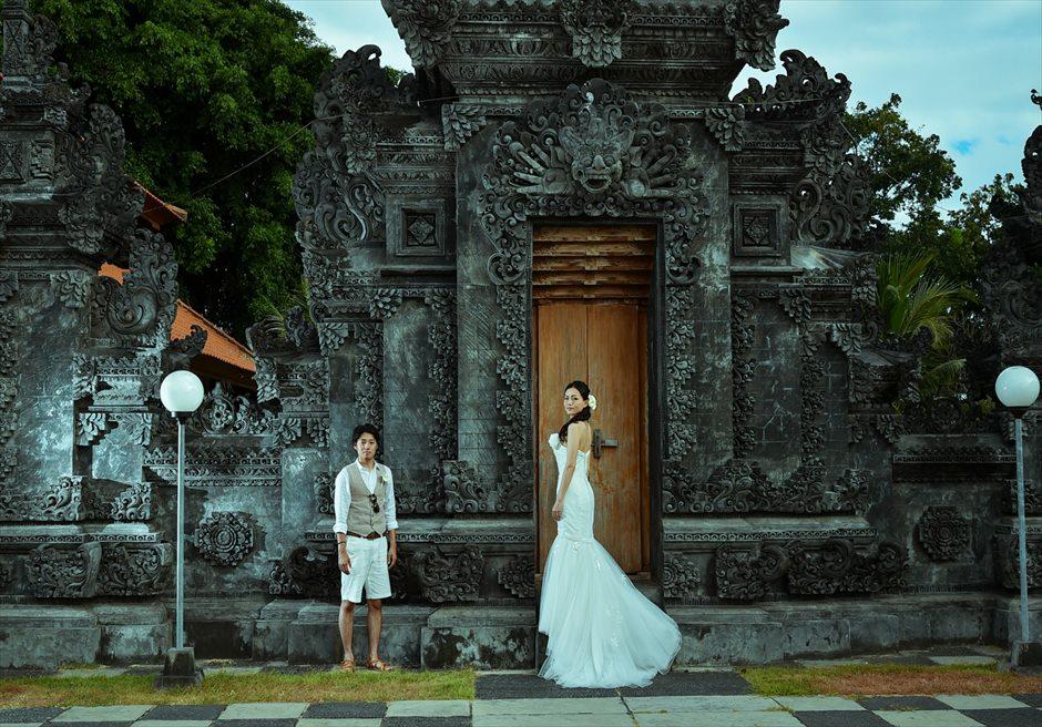 バリ島ウェディング・フォト【寺院】/ ヒンドゥー教寺院 デイタイム