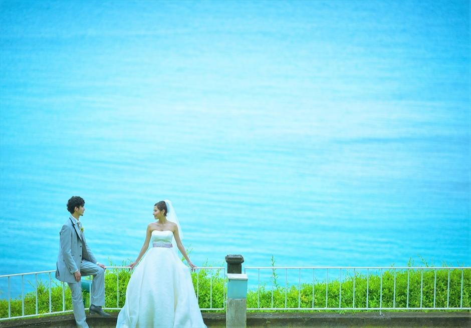 バリ島ウェディング・フォト【ガーデン】/ ヒルトン・リゾート・バリ