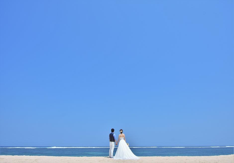 バリ島ウェディング・フォト【ビーチ】/ サマベ・スイート&ヴィラズ