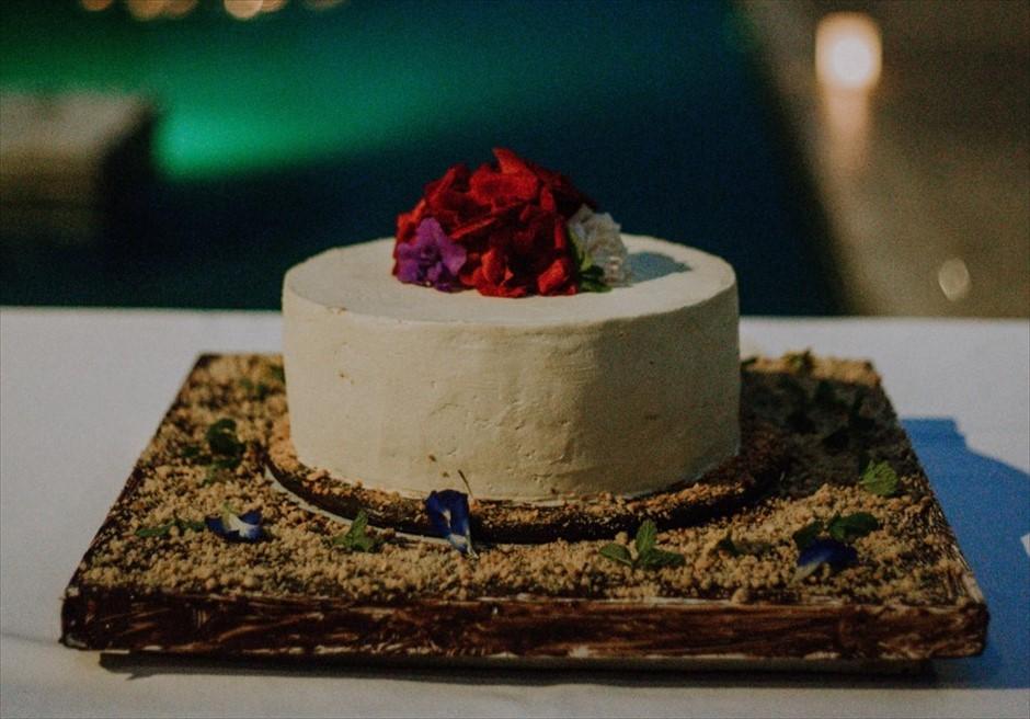 アリラ・ウブド ホーリー・ウェディング&パーティー ウェディングケーキ