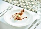 アリラ・ウブド ウェディングメニュー・コース料理 メイン(チキン)一例