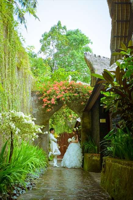 クプ・クプ・バロン・ヴィラズ&ツリー・スパ<br /> 美しいリゾート内の木々