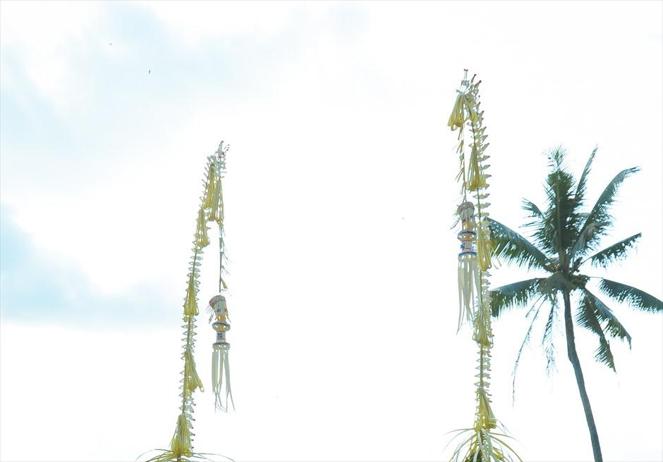 クプ・クプ・バロン・ウブド| バリニーズ・ウェディング 基本装飾| ペンジョール