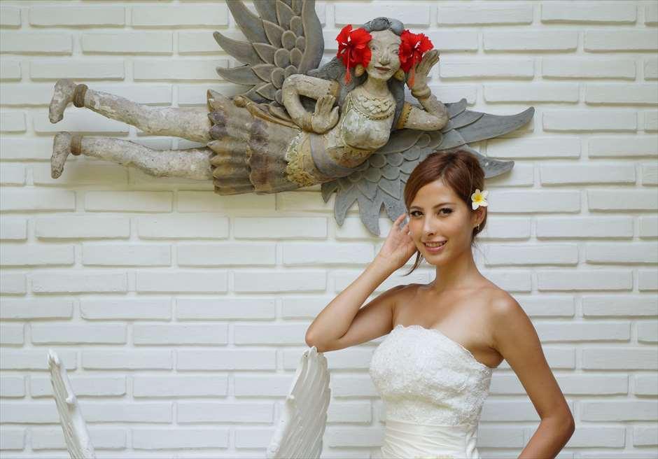 「ブミ・ドゥア・ダリ」<br /> 2人の天使を意味する<br /> 貸切ウェディング会場