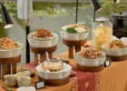 フォーシーズンズ・サヤン ロータス・ポンド ウェディング・パーティー インドネシア料理ビュッフェ