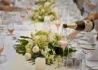 フォーシーズンズ・サヤン ロータス・ポンド ウェディング・パーティー スクエアテーブル装飾