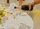 フォーシーズンズ・サヤン ロータス・ポンド ウェディング・パーティー ラウンドテーブル装飾