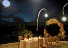 ロータス・ポンド・ルーフトップ 貸切ウェディング・パーティー サークル・アーチ装飾
