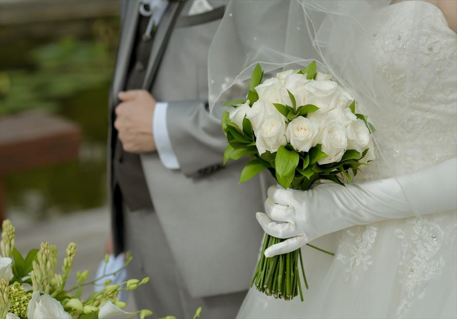 サヤン・エタニティ・アップグレード 7つの選べる生花ブーケ&ブートニア ※下記オプション欄をご覧ください