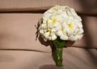フォーシーズンズ・サヤン挙式生花のブーケ&ブートニア プルメリア