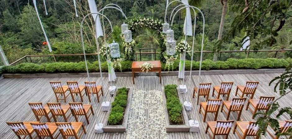 Twilight Terrace Wedding