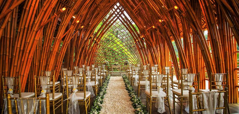 Bamboo Chapel Wedding