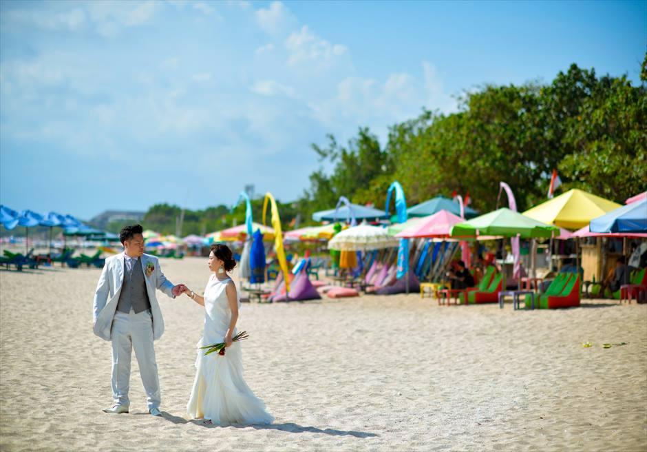 パドマ・リゾート・バリ・アット・レギャンバリらしい雰囲気の漂うレギャンビーチ