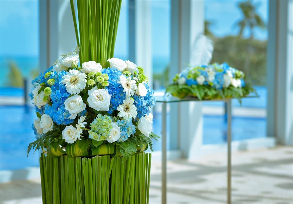 ル・メリディアン・ジンバラン・バリ セレブレーション・パビリオン 生花の装飾