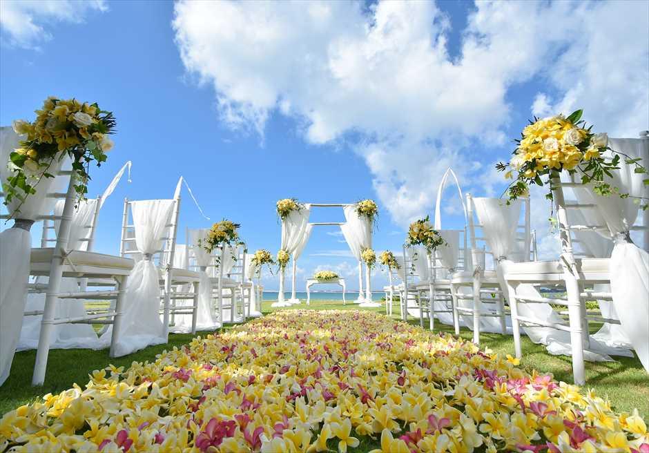 フォーシーズンズ・リゾート・ジンバラン挙式 ギリ・ジンバラン ガーデン・ウェディング