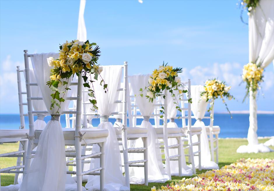 フォーシーズンズ・リゾート・ジンバラン結婚式 ギリ・ジンバラン挙式 ガーデン・ウェディング