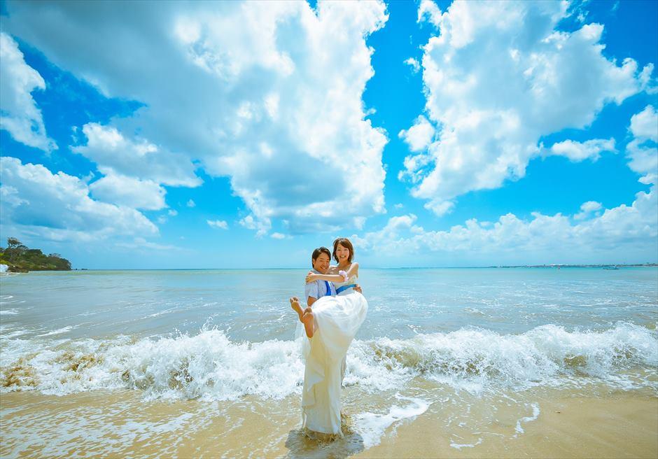 フォーシーズンズ・リゾート・バリ・アット・ジンバランベイ<br /> ジンバランビーチにてフォトウェディング
