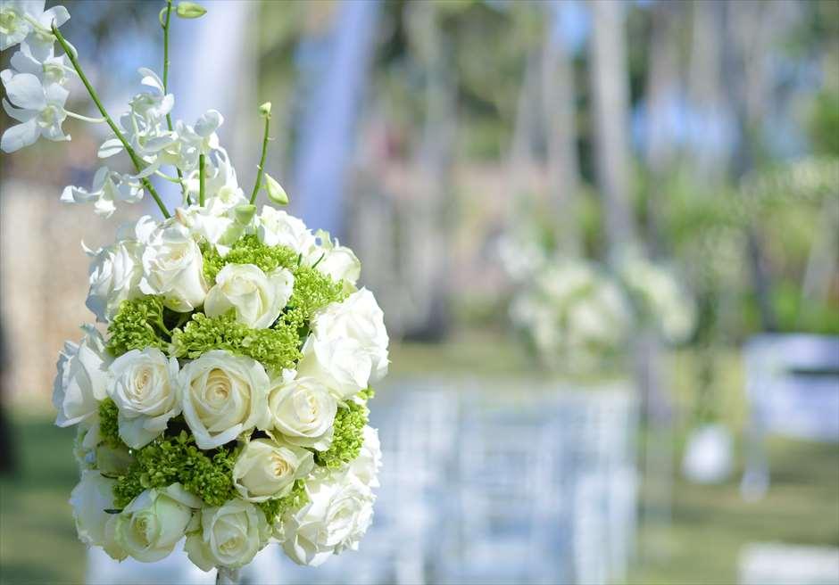 ジ・オベロイ・バリ  ガーデン・バイ・ザ・シー 基本装飾はすべて生花