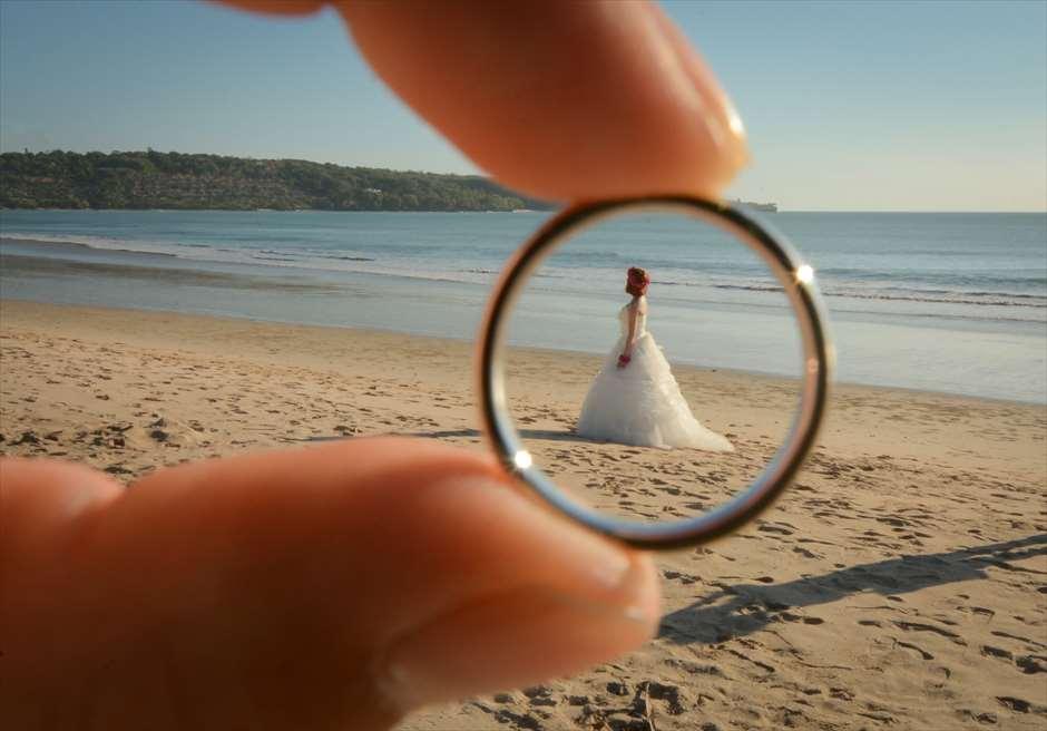 撮影の自由度が高いプリ・バリのビーチ