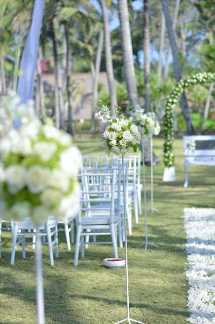 ジ・オベロイ・バリ  ガーデン・バイ・ザ・シー 基本装飾 非常に洗練された雰囲気