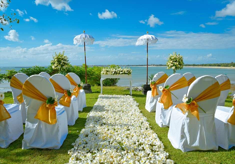フォーシーズンズ・リゾート・バリ挙式 ジンバラン・ガーデン・ウェディング