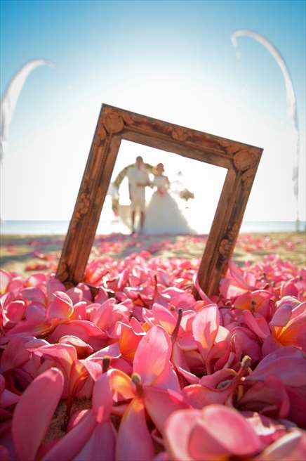 ベルモンド・ジンバラン・プリ・バリ<br /> ジンバランビーチ・フォトウェディング<br /> 撮影の自由度が高いプリ・バリ・ビーチ