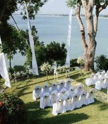 フォーシーズンズ・ジンバラン・バリ結婚式 ジンバラン・ガーデン挙式会場