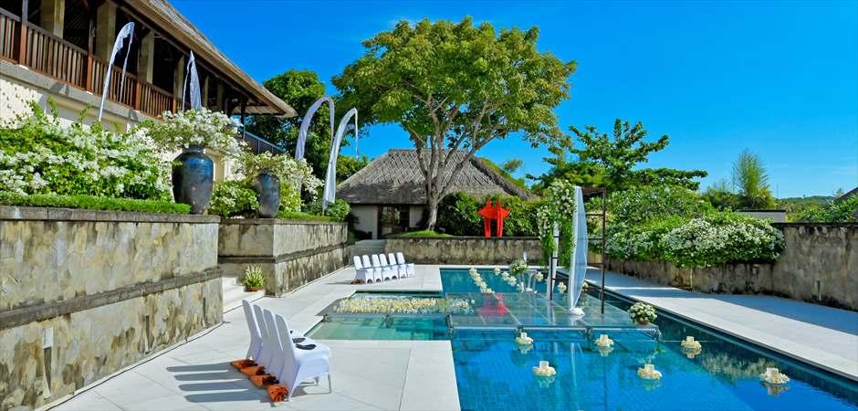 Aman Luxury Water Villa Wedding
