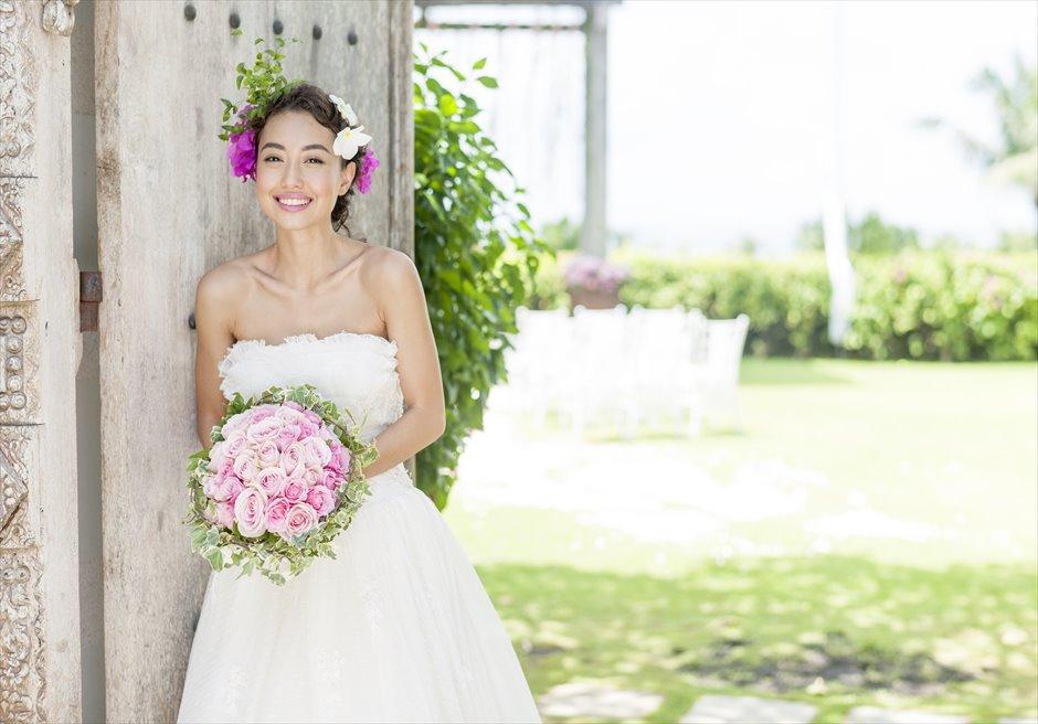 アヤナ・リゾート&スパ・バリ  アスマラ・ガーデン・ウェディング 挙式後撮影