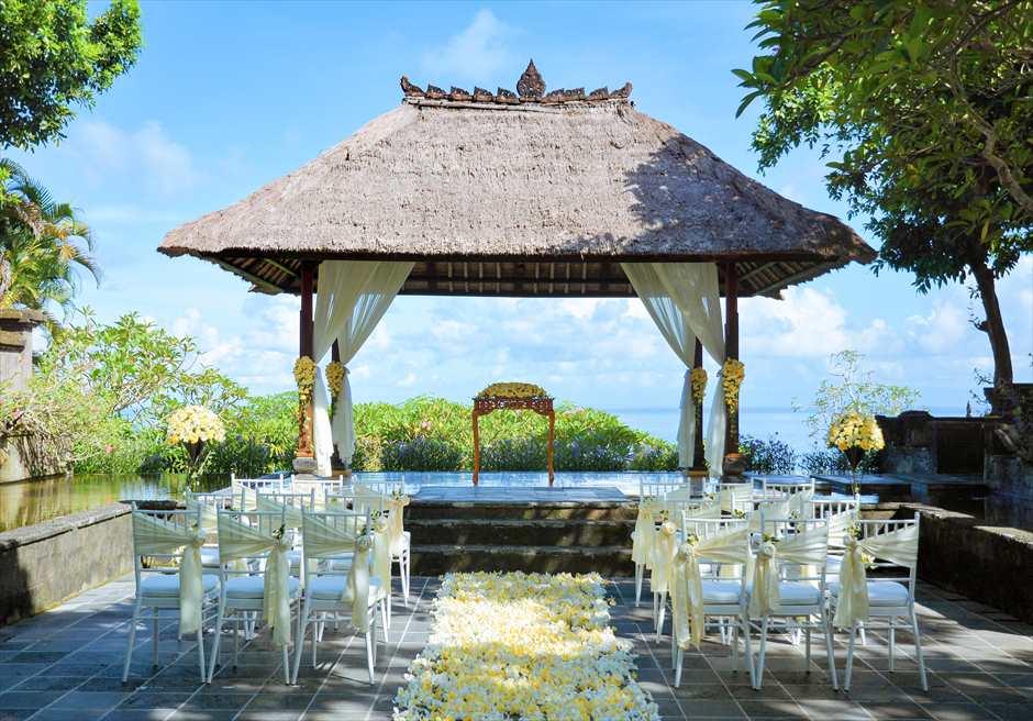 アヤナ・リゾート&スパ・バリ結婚式 バレ・クンチャナ・ウェディング 挙式会場全景