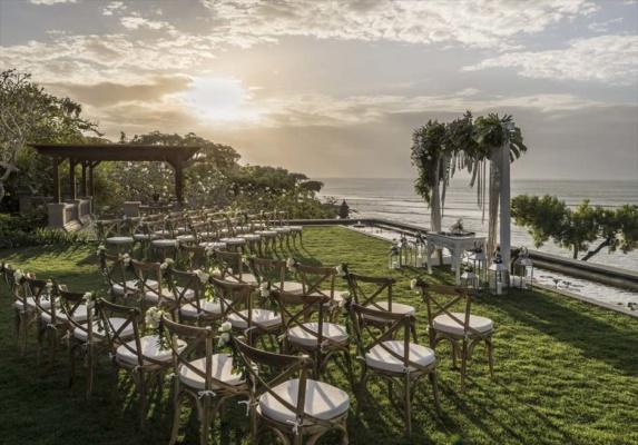 フォーシーズンズ・バリ・ジンバラン結婚式 ヴィラ・ウェディング 挙式会場