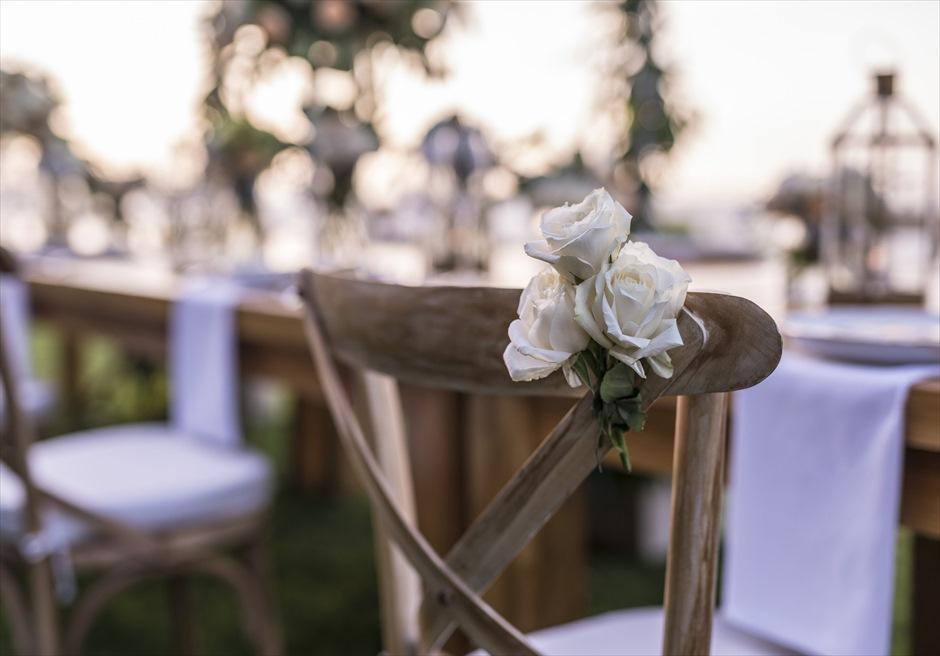 フォーシーズンズ・リゾート・ジンバラン・バリ インペリアル・ヴィラ挙式 パーティー