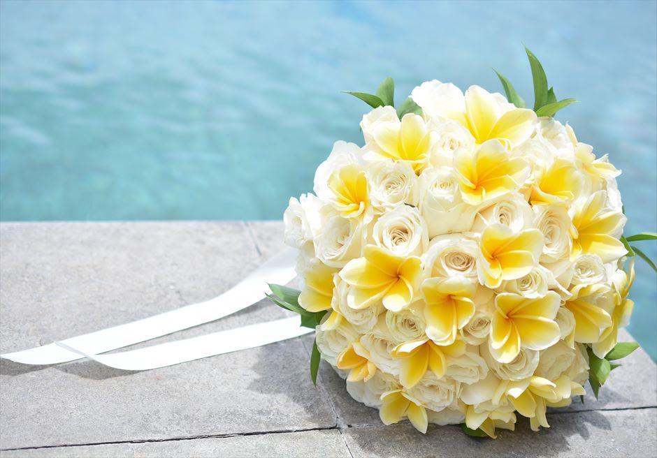バンヤン・ツリー・ウンガサン セレニティ・ガーデンウェディング 生花のブーケ&ブートニア(