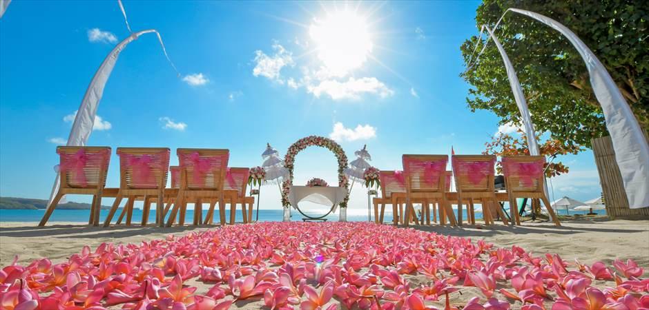 BLESS BALI Original Luxury Beach Wedding