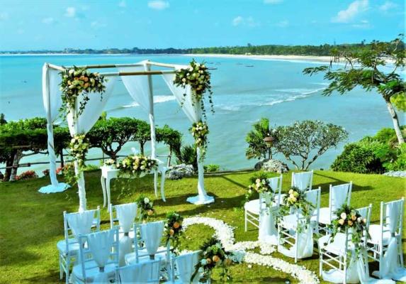 フォーシーズンズ・バリ・ジンバラン結婚式 ジンバラン・ガーデン・ウェディング 挙式会場