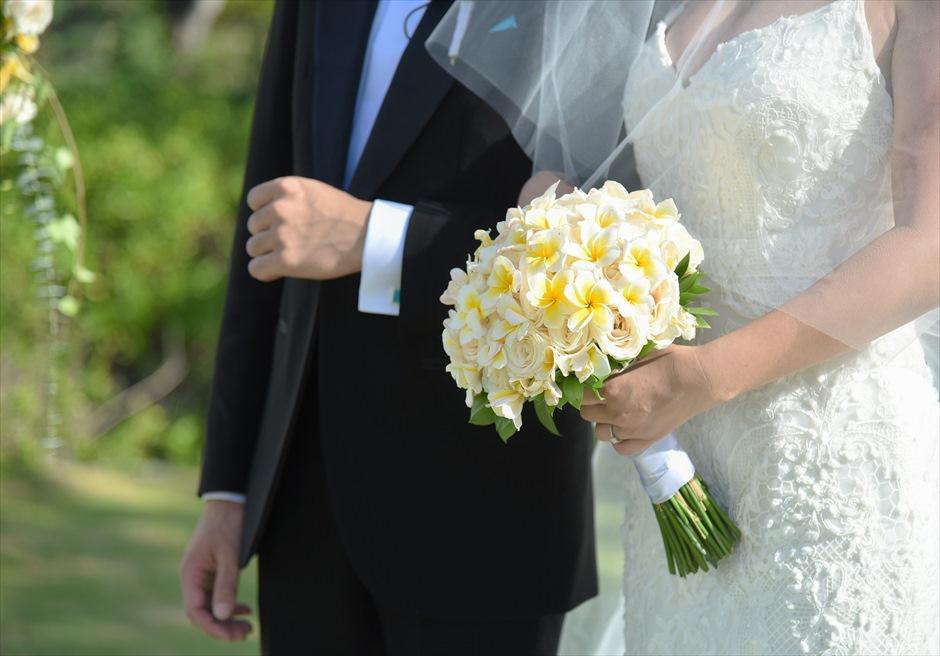 ジンバラン・ガーデン・ウェディング 生花のブーケ&ブートニア 7種類より選択可(下記オプション参照)