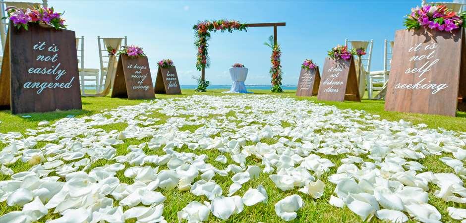 Designer's Tropical Wedding