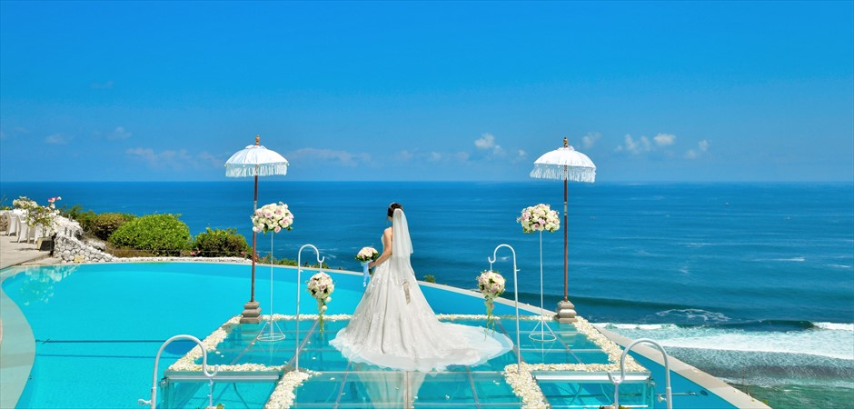 Cliff Floating Wedding on Water