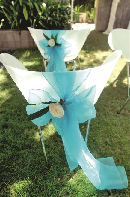カユマニス・ヌサ・ドゥア プラザ・ガーデン・ウェディング セレモニーチェア生花装飾