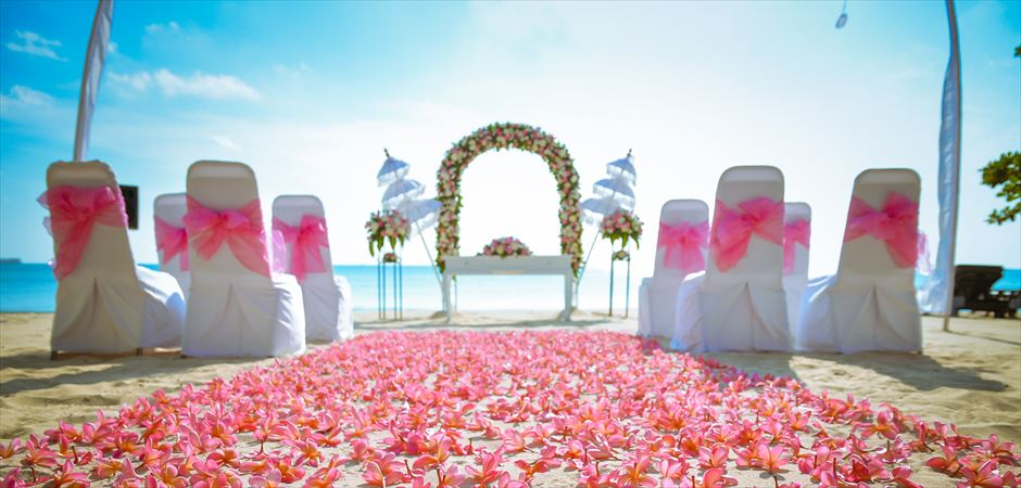 BLESS BALI Original Beach Wedding