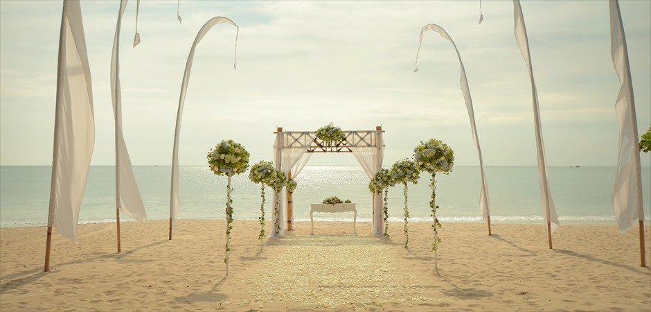 Upgrade Beach Bamboo Gazebo Wedding