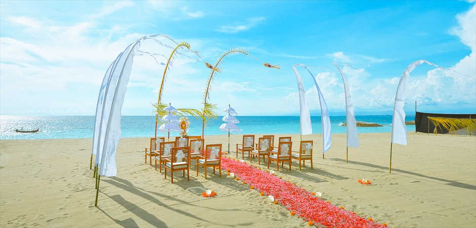 Balinese Beachfront Wedding